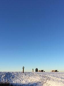 Snow at Terra Nova