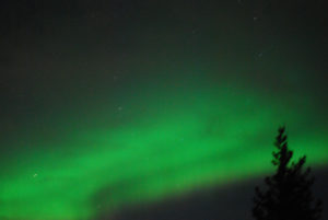 Northern Lights Willow Lake